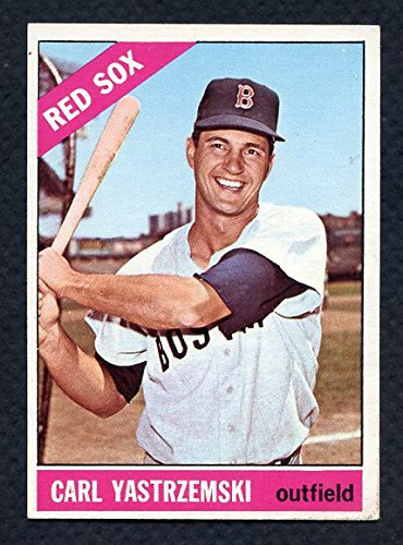 1966 Topps #070 Carl Yastrzemski Red Sox EX 280026 Kit Young Cards by Topps