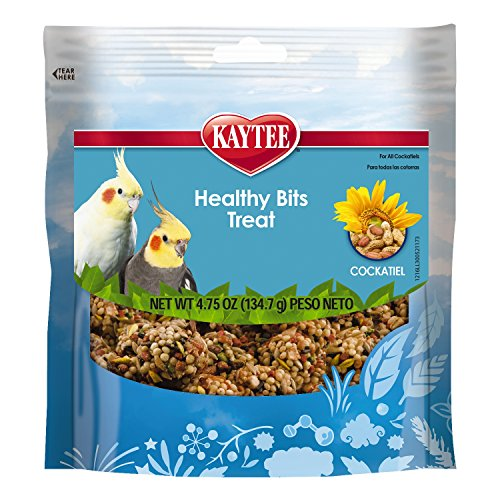 Kaytee Healthy Bits Bird Treat for Cockatiels, 4.75 - Healthy Bits Healthy