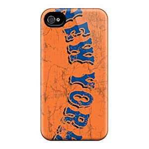 Shock Absorbent Hard Phone Covers For Iphone 6 (adV18972fELr) Customized High-definition New York Mets Pattern