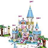 Princess Romantic Castle Bricks Building Blocks Christmas Gift Toys