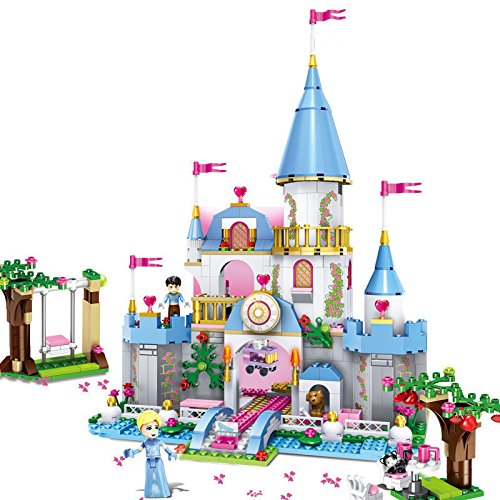 Princess Romantic Castle Bricks Building Blocks Christmas Gift (Halo Reach Costumes)
