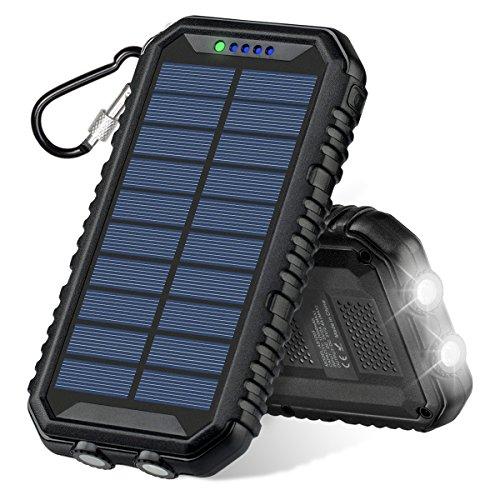 Solar Power Bank 12000 Mah - 1