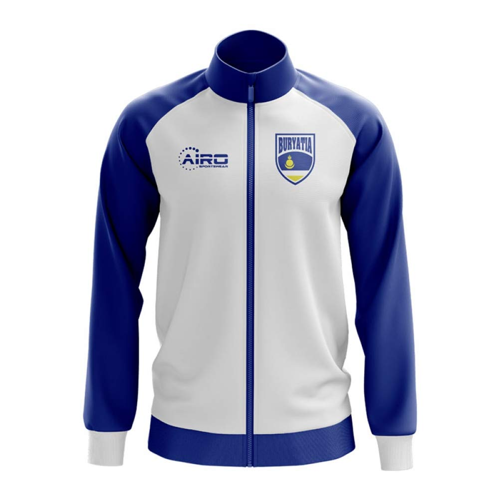 Airo Sportswear Buryatia Concept Football Track Jacket (Weiß)