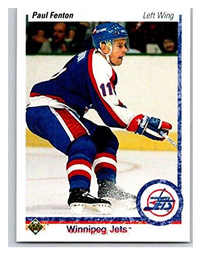 1990-91 Upper Deck #92 Paul Fenton Mint Hockey NHL