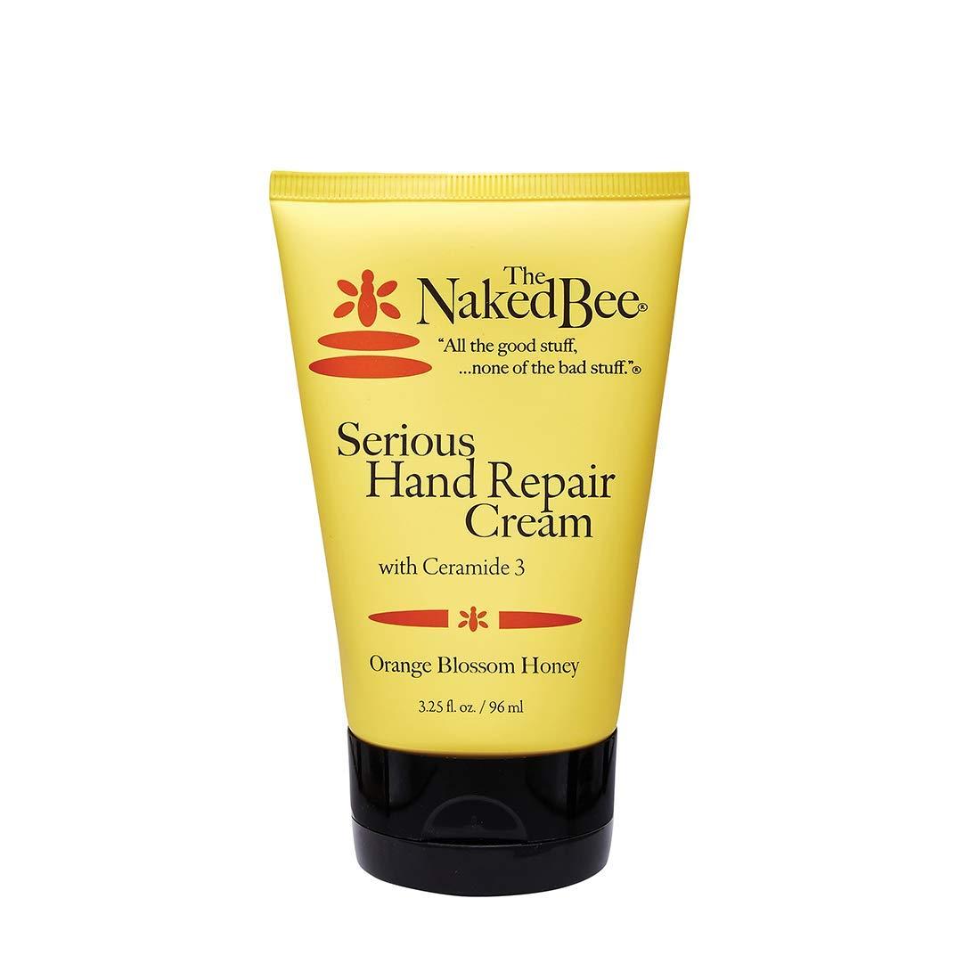 The Naked Bee Orange Blossom Honey Serious Hand Repair Cream, 3.25 Oz : Beauty