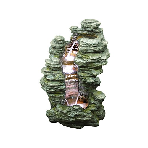 Design Toscano Mineral Point Cascading Garden Fountain by Design Toscano