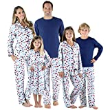 SleepytimePjs Holiday Family Matching Hot Cocoa PJs Sets for The Family Women's Lounger (STM-3046-W-1002-Sml)