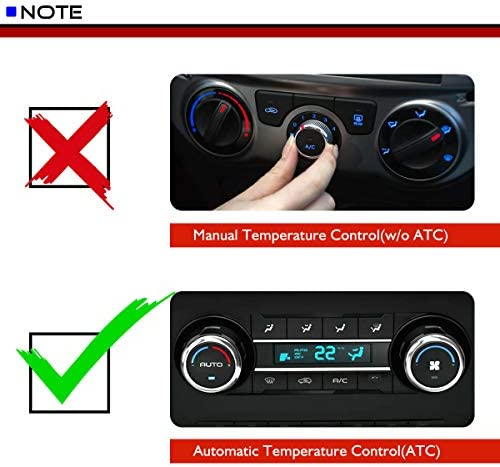 Blower Motor Resistor With Automatic Temperature Control fit for 1999-2004 Jeep Grand Cherokee 5012699AA 05012699AA RU-358