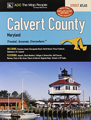 Calvert County, MD Street Atlas