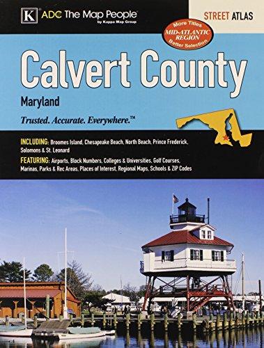 Calvert County, MD Street Atlas