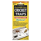 Harris Natural Cricket Glue Traps with Irresistible Lure (2-Pack)