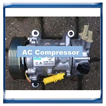 GOWE ac compressor for SANDEN 6C12 SD6C12 auto ac compressor Peugeot 207 307 408 Citroen C2