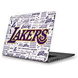 Skinit NBA Los Angeles Lakers MacBook Pro 13 (2013-15 Retina Display) Skin - LA Lakers Historic Blast Design - Ultra Thin, Lightweight Vinyl Decal Protection