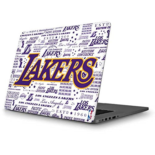 Skinit NBA Los Angeles Lakers MacBook Pro 13 (2013-15 Retina Display) Skin - LA Lakers Historic Blast Design - Ultra Thin, Lightweight Vinyl Decal Protection by Skinit