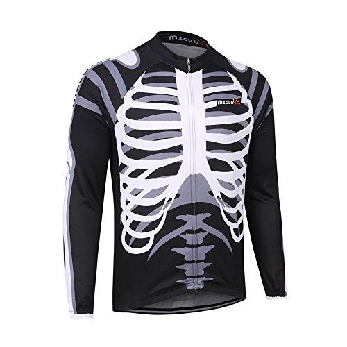 mzcurse Men's Long Sleeve Bicycle Cycling Jersey Shirt Outdo