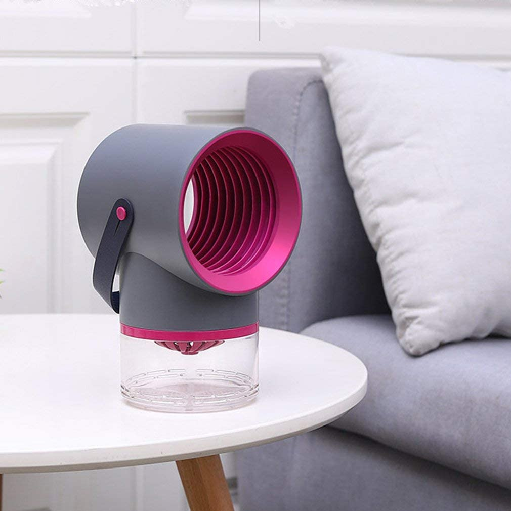 Maternal and Child Safety Fly Trap Non-Radiation Mosquito Killer Gray Household Silent Suction Mosquito Zapper TataYang Mosquito Killer