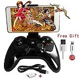 Wireless Speedy Gamepad PXN 6603 MFI Controller Bluetooth Game Joystick for iOS iPhone Apple TV (Black)