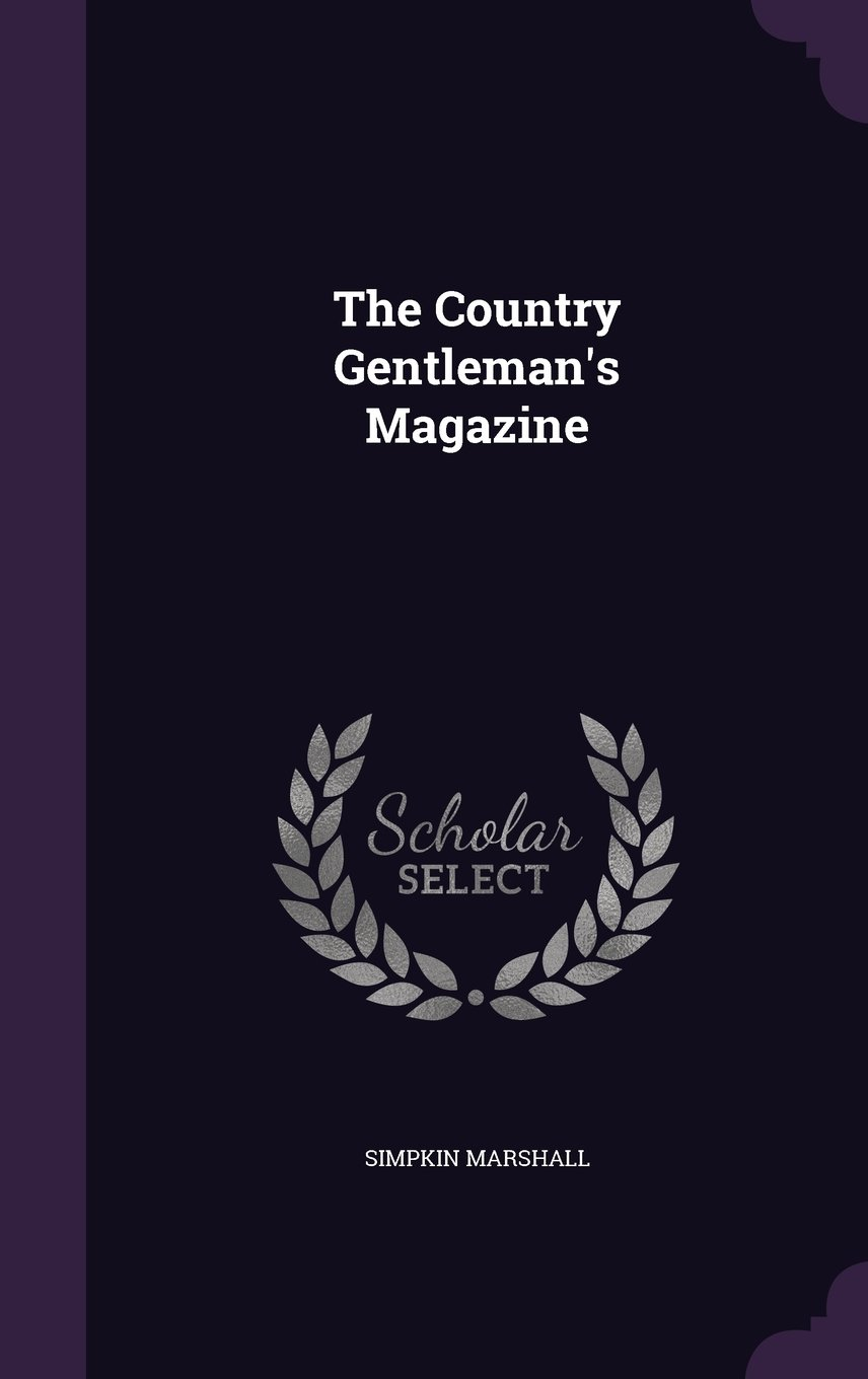 Download The Country Gentleman's Magazine pdf