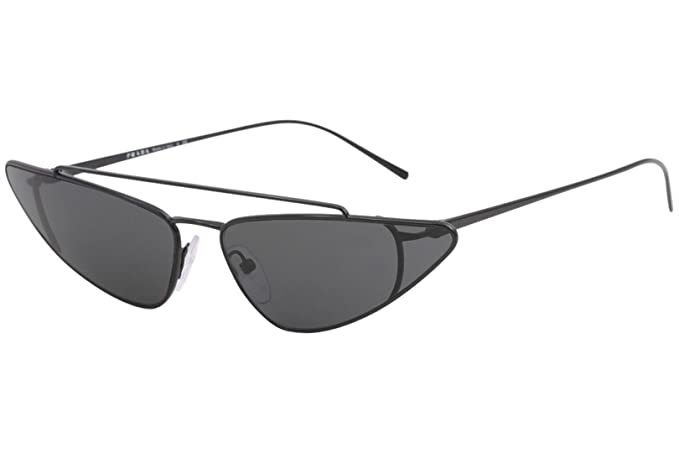 Ray-Ban 0PR 63US Gafas de Sol, Black, 45 para Mujer: Amazon ...