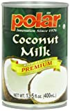 young coconut meat - MW Polar Coconut Milk, Premium, 13.5-Ounce (Pack of 12)