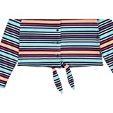 Polarn O. Pyret Jersey Stripe TIE Cardigan (Baby) - 9-12 Months/Baton Rouge
