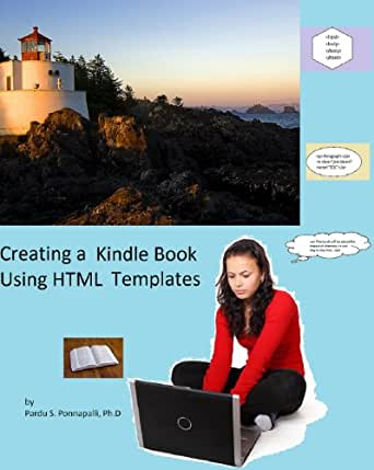 creating a kindle book using html templates ebook pardu ponnapalli kindle store. Black Bedroom Furniture Sets. Home Design Ideas