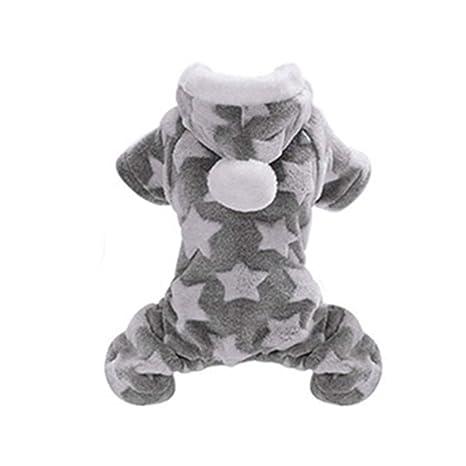 HELLOGIRL Mono con Capucha para Perros Cachorro de Perro pequeño ...