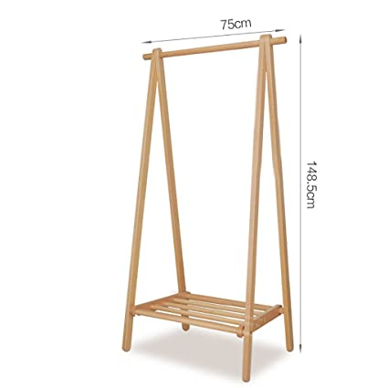 Amazon.com: Panet Coat Rack Solid Wood Coat Rack, Floor ...