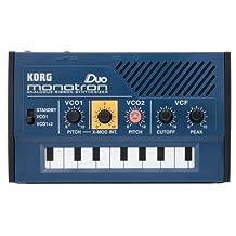 Korg Monotron DUO Analog Ribbon Synthesizer with Dual Oscillators