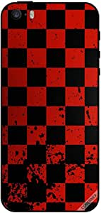 Case For iPhone 5 - Red Chess