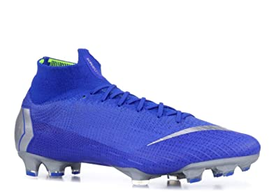 d941624ce Nike Mercurial Superfly VI 6 Elite FG AH7365-400 Racer Blue/Silver Men's  Soccer