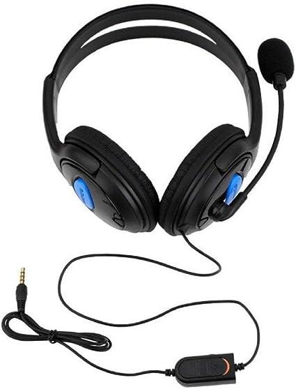 Ps4-001-A - Auriculares con micrófono para Sony Play Station 4 / Pc Ps4: Amazon.es: Electrónica