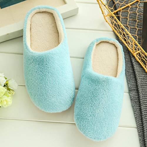 Spring Emoji Camera Warm Floor Soft Ragazza Donna Per Sneakers Letto Bottom Blu Home Expression Indoor Da Flats Slippers qv864