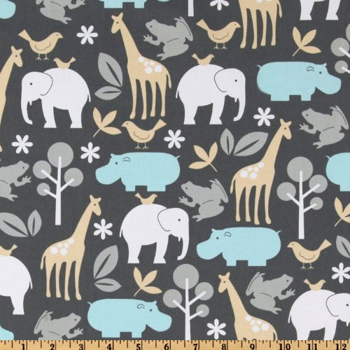 Michael Miller Baby Zoology Sea Fabric By The - Quilt Miller Michael Fabric