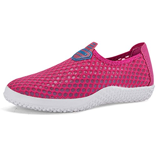 Unisex Slip Holiday Mesh Water On Rose Shoes Aqua Shoes Wet Beach Eagsouni F7Rw6w