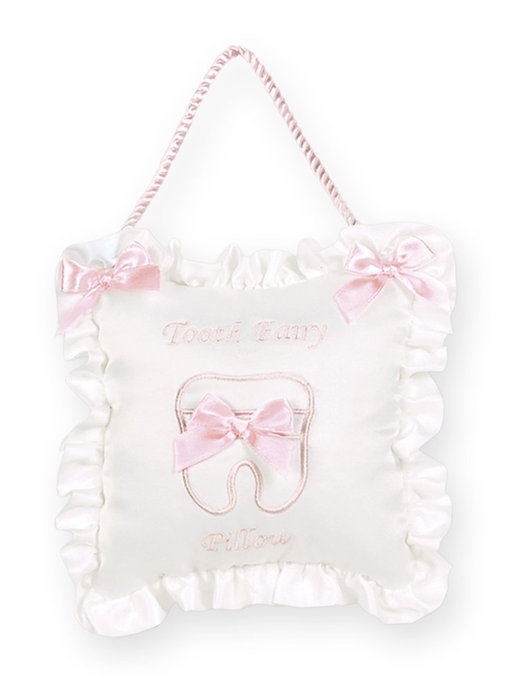 Bearington Baby Le Petite Pink Tooth Fairy Pillow