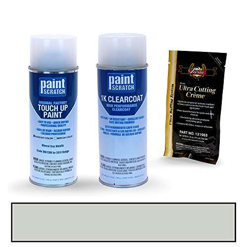 - PAINTSCRATCH Mineral Gray Metallic DM/CDM for 2010 Dodge Ram Truck - Touch Up Paint Spray Can Kit - Original Factory OEM Automotive Paint - Color Match Guaranteed