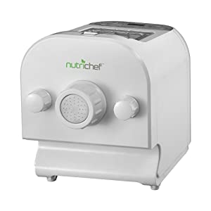 NutriChef PKPM350 Small Countertop Appliance One Size White