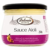 Delouis Fils Aioli Garlic Mayonnaise 250g - Pack of 6