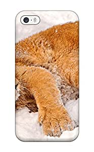 Iphone 5/5s Case Cover Skin : Premium High Quality Lion Case