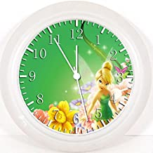 """New Disney Tinkerbell Wall Clock 10"""" Will Be Nice Gift and Room Wall Decor W94"""