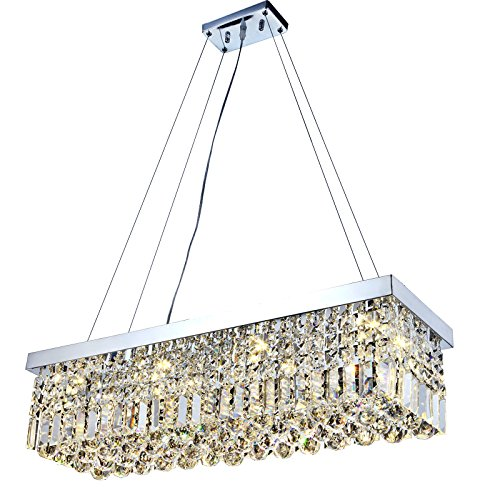 Crystal Pendant Light For Kitchen Island - 8
