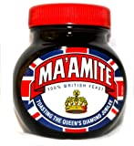 Marmite Toasting the Queens Diamond Jubilee MA'AMITE Highly Limited edition 250g Jar