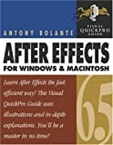 After Effects 6.5 for Windows and Macintosh, Antony Bolante, 032119957X