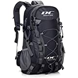 Diamond Candy Hiking Backpack 40L Waterproof Outdoor Lightweight Travel Backpacks for Men and Women with Rain Cover, Bag for Mountaineering Camping Climbing Cycling Fishing