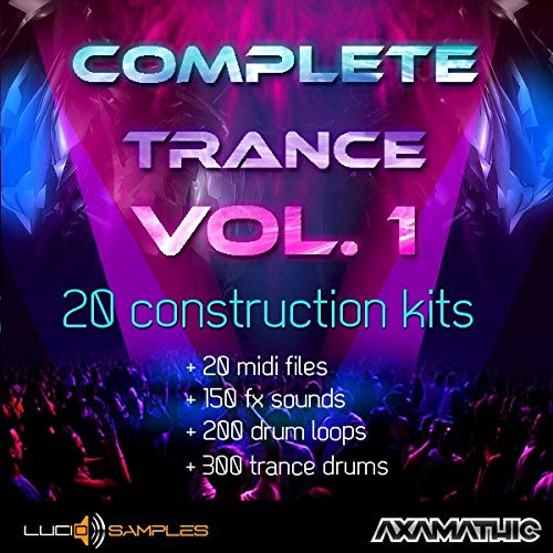 - Complete Trance vol. 1 is a rich and complete set of samples for commercial, euphoric trance. In 20 construction kits you will find 362 ready-made synth lead, bass a... | WAV + MIDI Files DVD non BOX