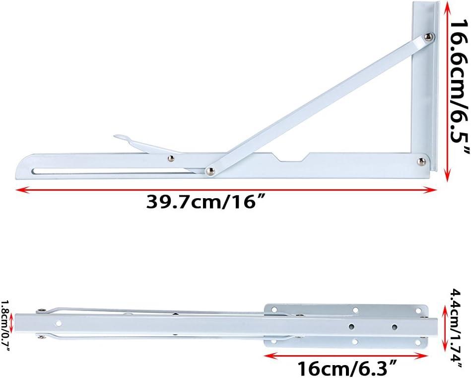 BTSKY Lot de 4 /équerres /à angle droit 12,7 x 7,6 cm