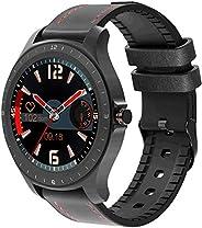 "Smartwatch BlitzWolf BW-HL2, Tela 1.3"" - Couro"