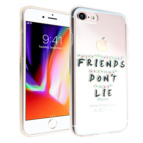 iPhone 7 8 CASEMPIRE Stranger Things Friends Don't Lie TPU Case Shock Proof Never Fade Slim Fit Cover for Apple iPhone 7 8 - Friends Don't Lie 7 8 TPU