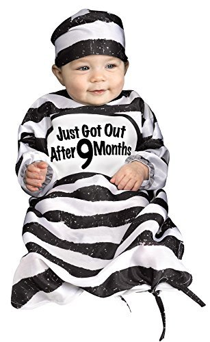 Fun World Kid's Time Out Tot Baby Bunting Costume Baby Costume, Multi, Standard]()